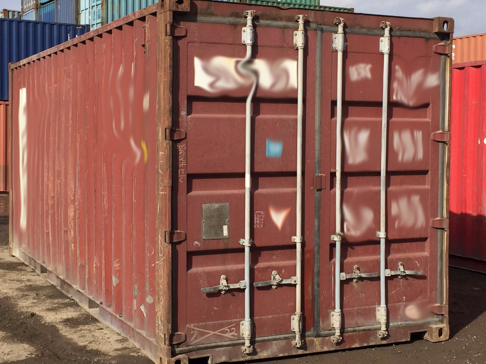 20′ Used Containers