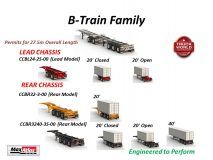 Max Atlas B-Train Container Chassis