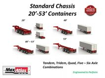 Max Atlas Standard Container Chassis