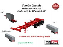 Max Atlas Combo Container Chassis