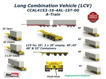 Max Atlas LCV Container Chassis